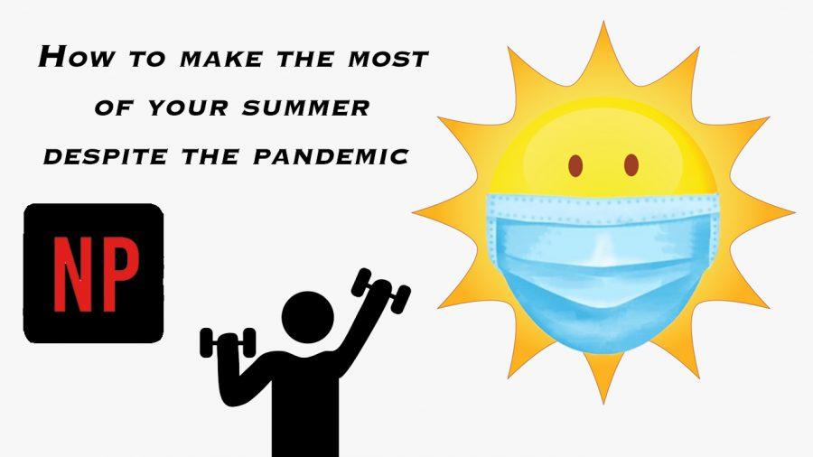 A pesar de la pandemia y el orden de quedarse en casa, hay muchas maneras de disfrutar las vacaciones de verano.