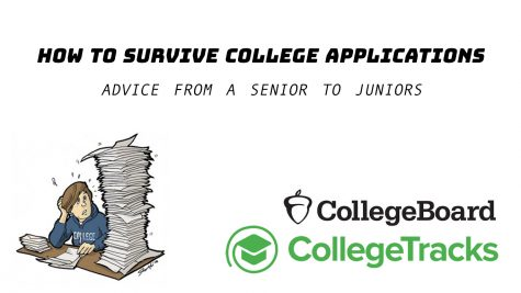 The college application process can be scary and confusing, but it can be easier with some hard work.