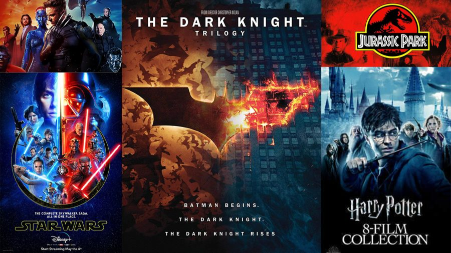 There+are+so+many+great+movie+franchises+to+watch+during+quarantine.+Movie+nights+are+a+great+opportunity+to+spend+some+quality+family+time.