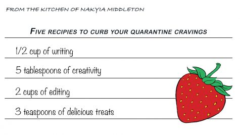 Here are five recipes to treat yourself while stuck inside during quarantine.
