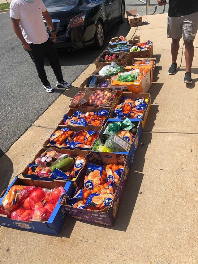 Wellness center brings free groceries to the Watkins Mill community