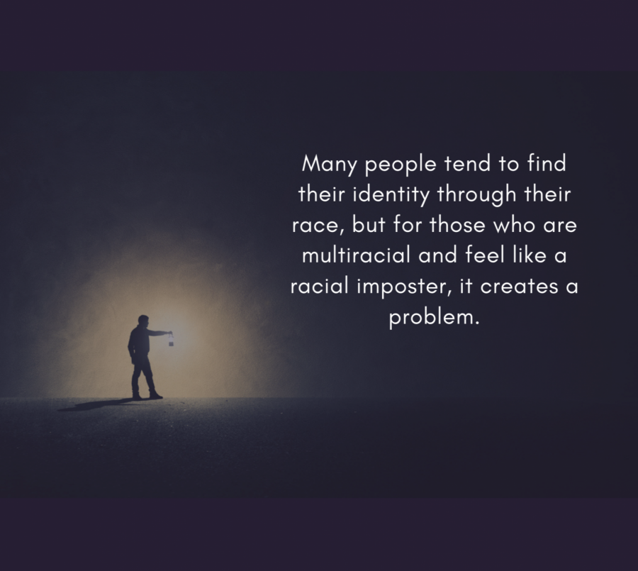 For those who are multi-racial, it's no uncommon to feel like you don't belong to a certain race.