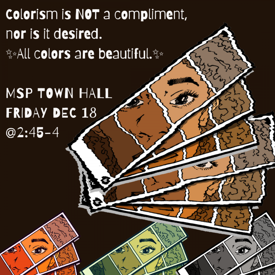 Minority Scholars Program hosts virtual townhall on colorism to educate and provide resources for students.