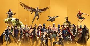 The 10 year anniversary of Marvel Studios superhero lineup.