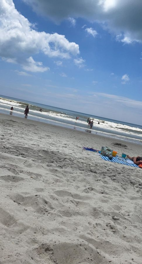 A perfect day at the beach.