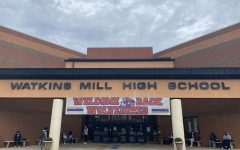 Students return to Watkins Mill in person for a more normal (although masked) year.